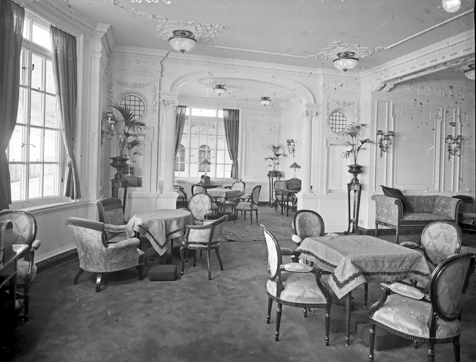 The Reading and Writing Room for the use of first-class women.