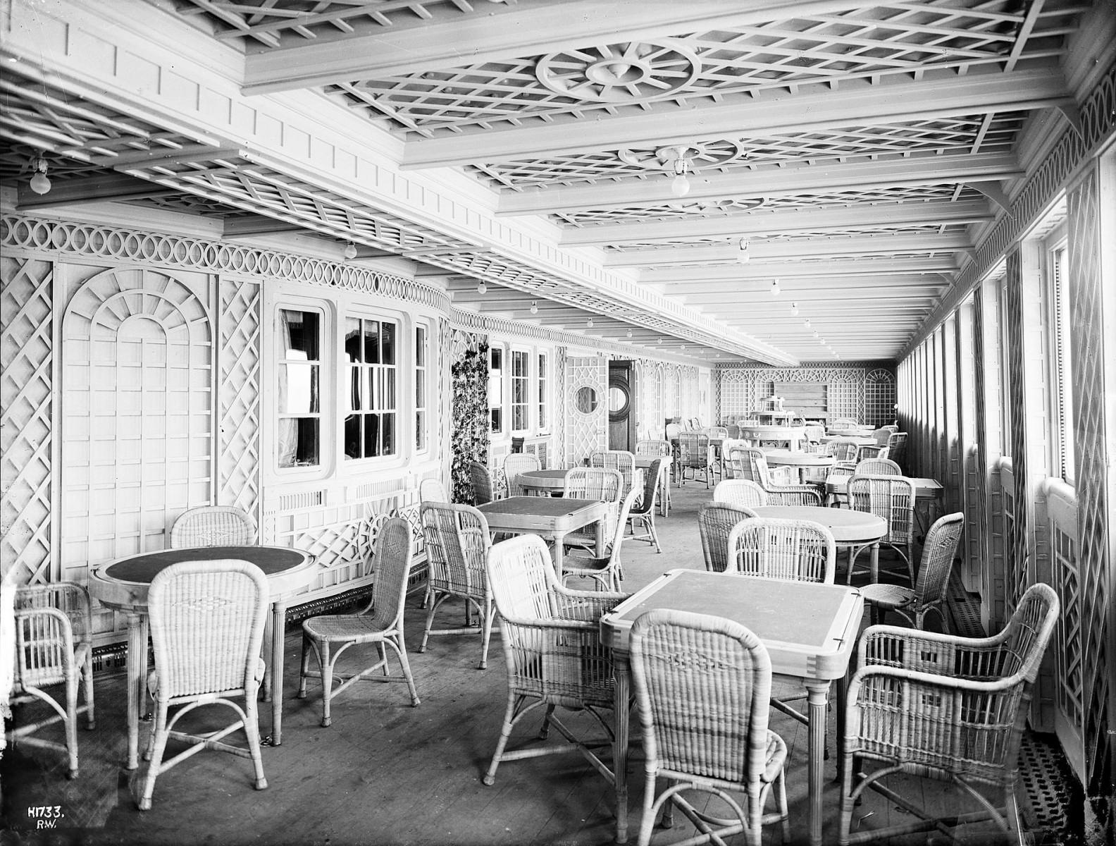 The Cafe Parisien.