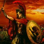 Alexander the Great in battle