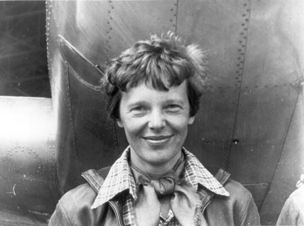 Amelia Earhart's last flight.
