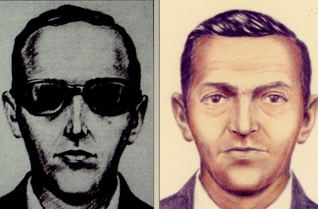 fbi sketches of d.b. cooper
