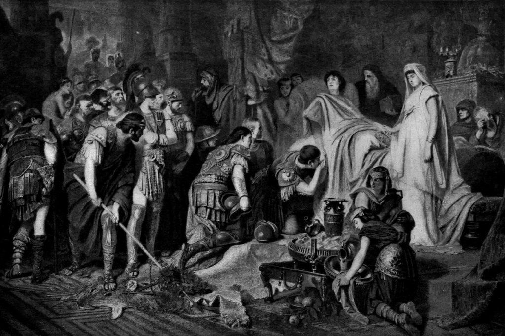 Death of Alexander the Great, by Karl von Piloty in 1886.