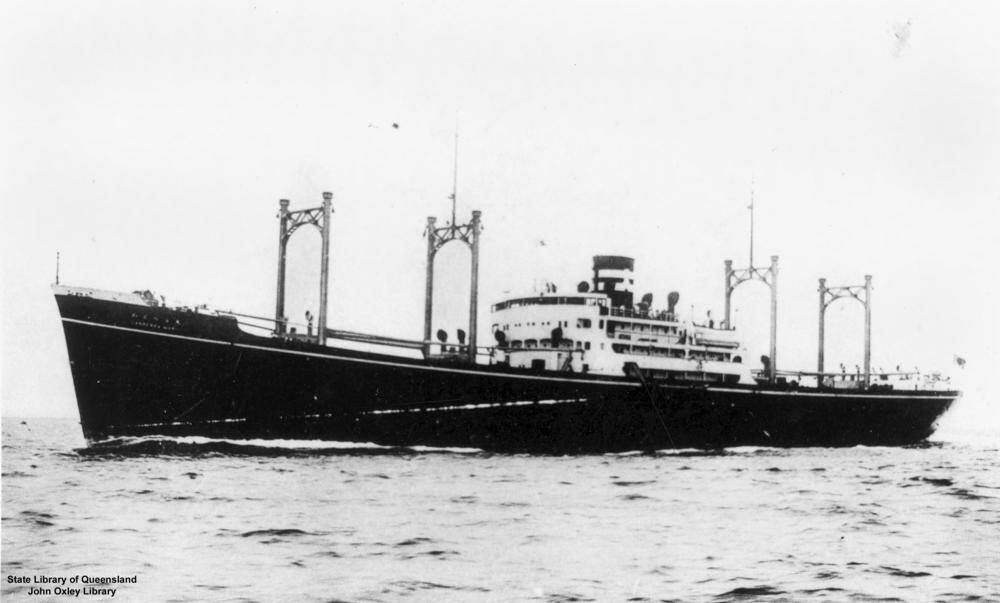 Japanese freighter Canberra Maru joined the search for the clipper.