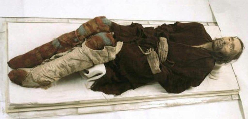 Chärchän Man. Tarim mummy of Xinjiang