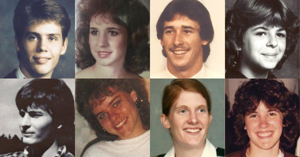 Victims of the Colonial Parkway Murders.