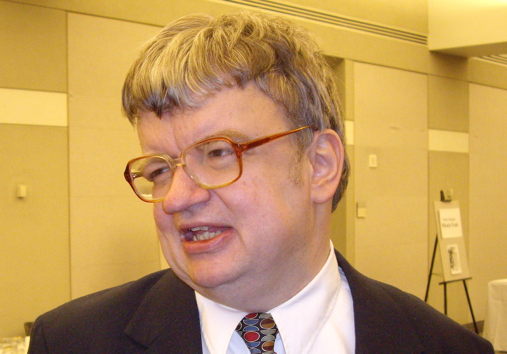 Kim Peek (a savant) was the inspiration for the movie Rain Man. Here he is in January 2007.