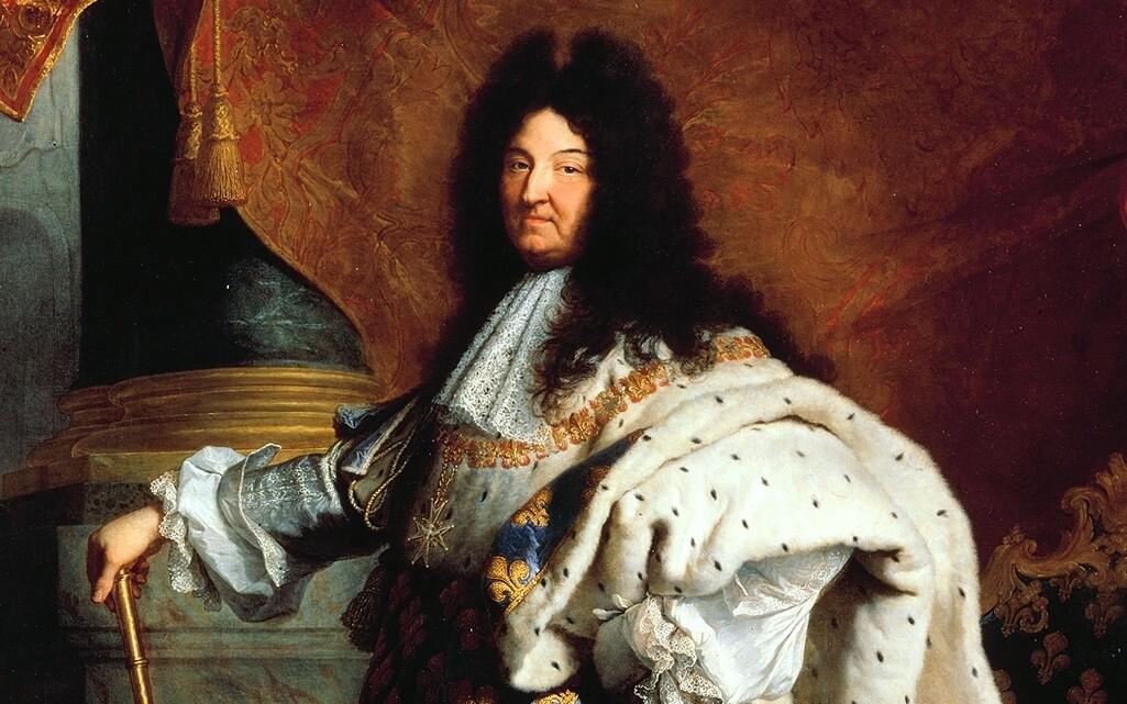 A portrait of King Louis XIV in 1701.