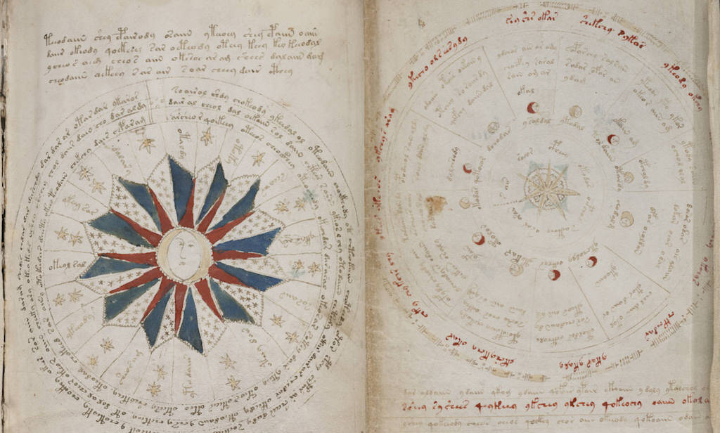 calendar in the voynich manuscript