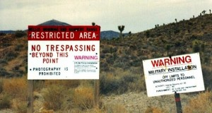 Area 51 Warning Signs. Image Credit: http://www.drboylan.com/