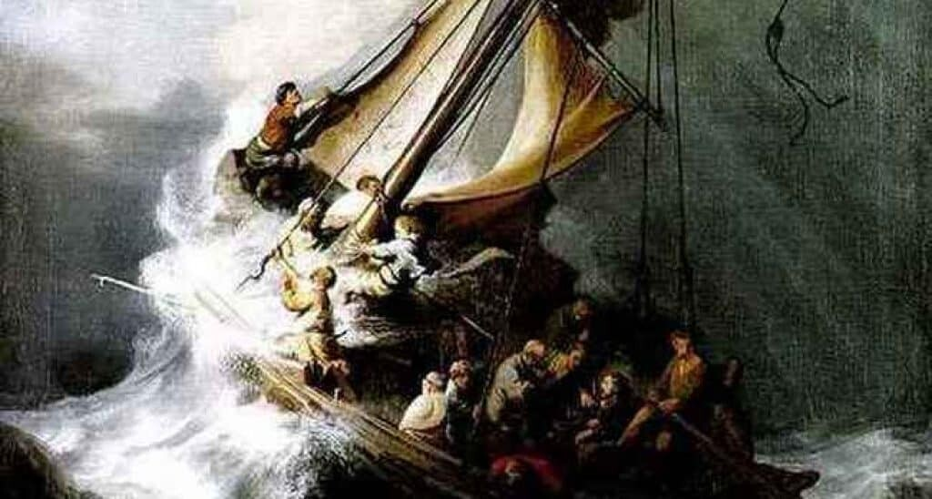 Isabella Gardner museum heist. The Storm on Galilee, by Rembrandt