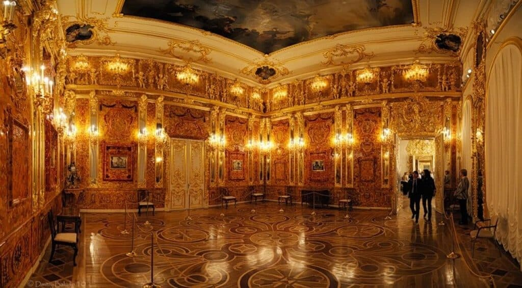 History of the Amber Room.