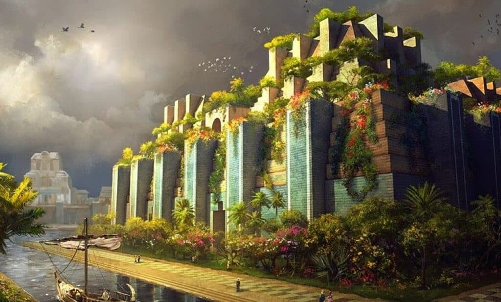 Hanging Gardens Of Babylon Did This Ancient Wonder Of The