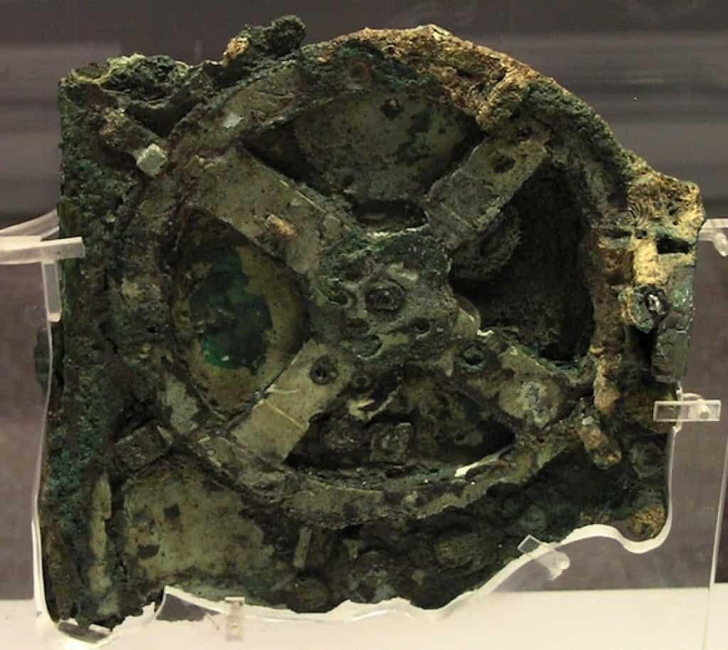 Antikythera Mechanism.