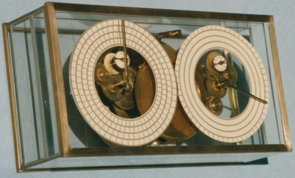 Photo of an Antikythera Mechanism built by Allan Bromley and Frank Percival.