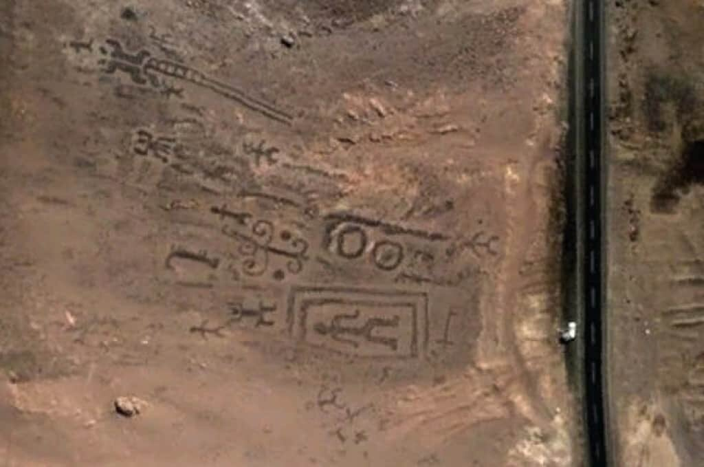 Geoglyphs of Chiza.