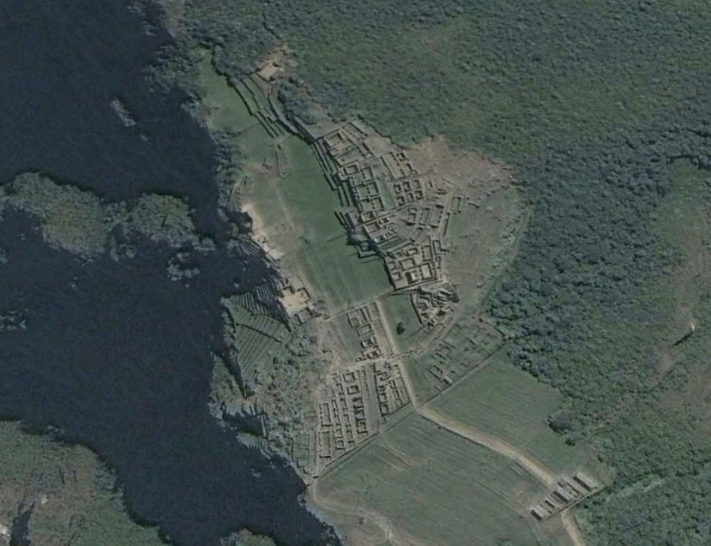 mysterious places on Google Earth