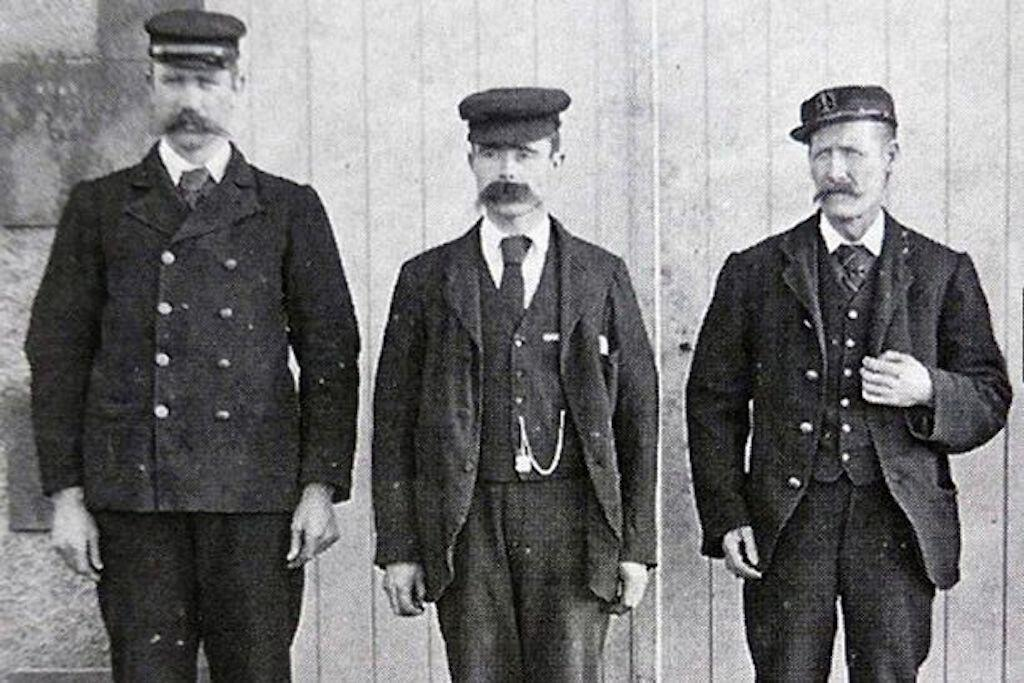 Missing Flannan Island Lighthouse Keepers Thomas Marshall, James Ducat, and Donald MacArthur.