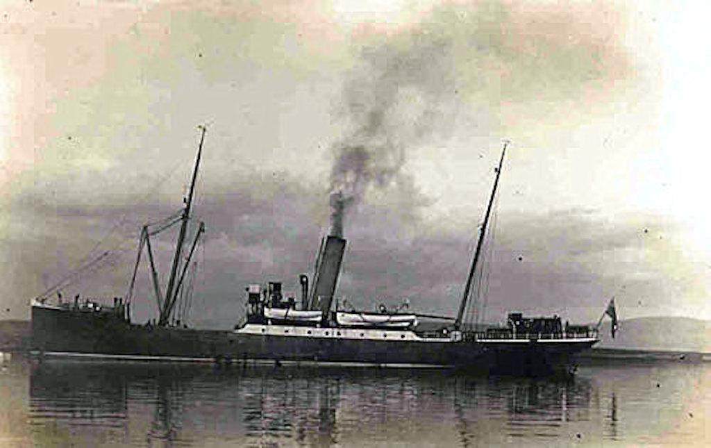 The SS Hesperus.