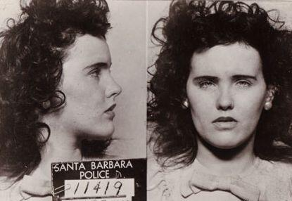Mugshot of Elizabeth Short