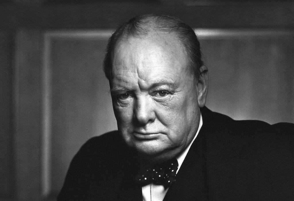 Sir Winston Churchill in December 1941.