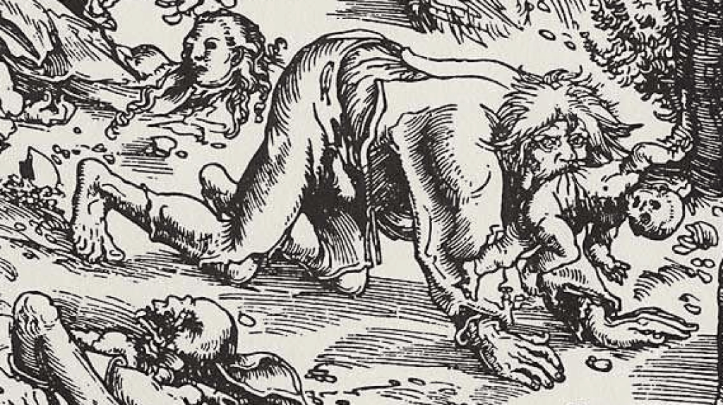 Is the Beast of Bray Road a Werewolf? Image by Lucas Cranach.