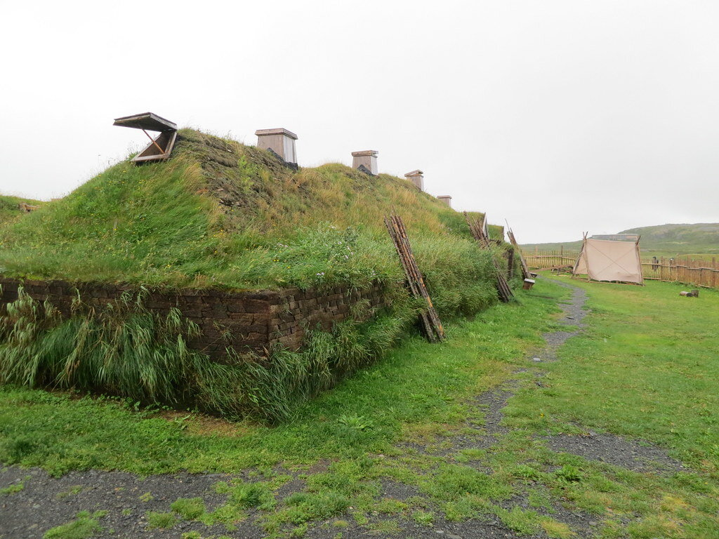 The Viking settlement at L'Anse Aux Meadows