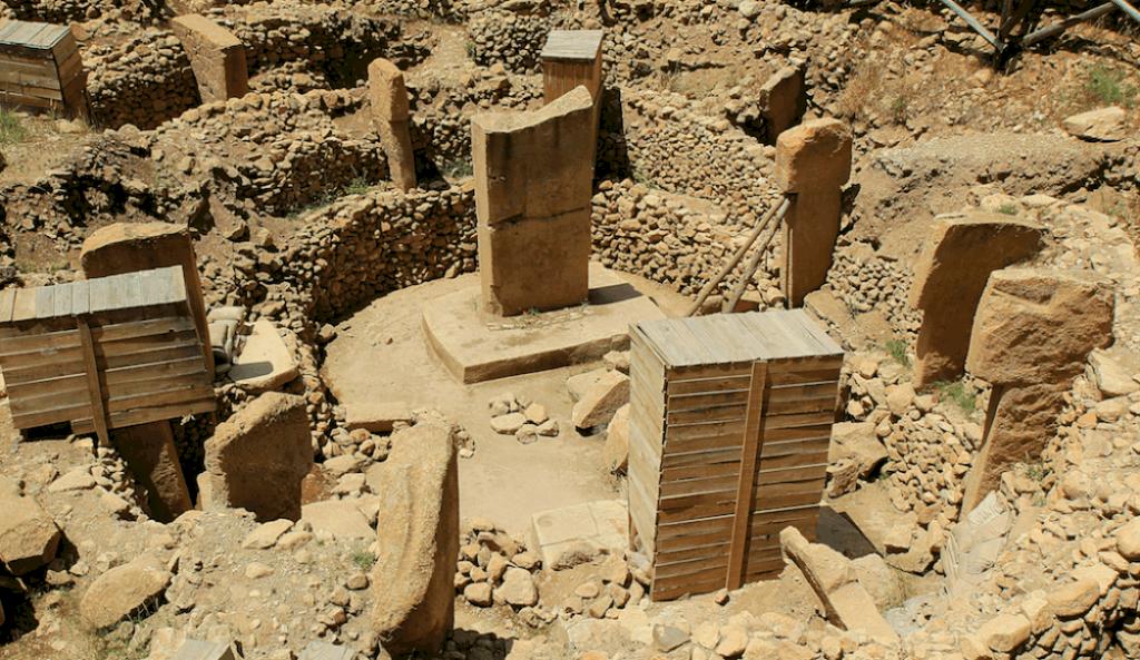 One circle of Gobekli Tepe