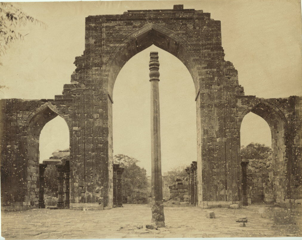 A John Edward Sache photo of the pillar in the 1880s.