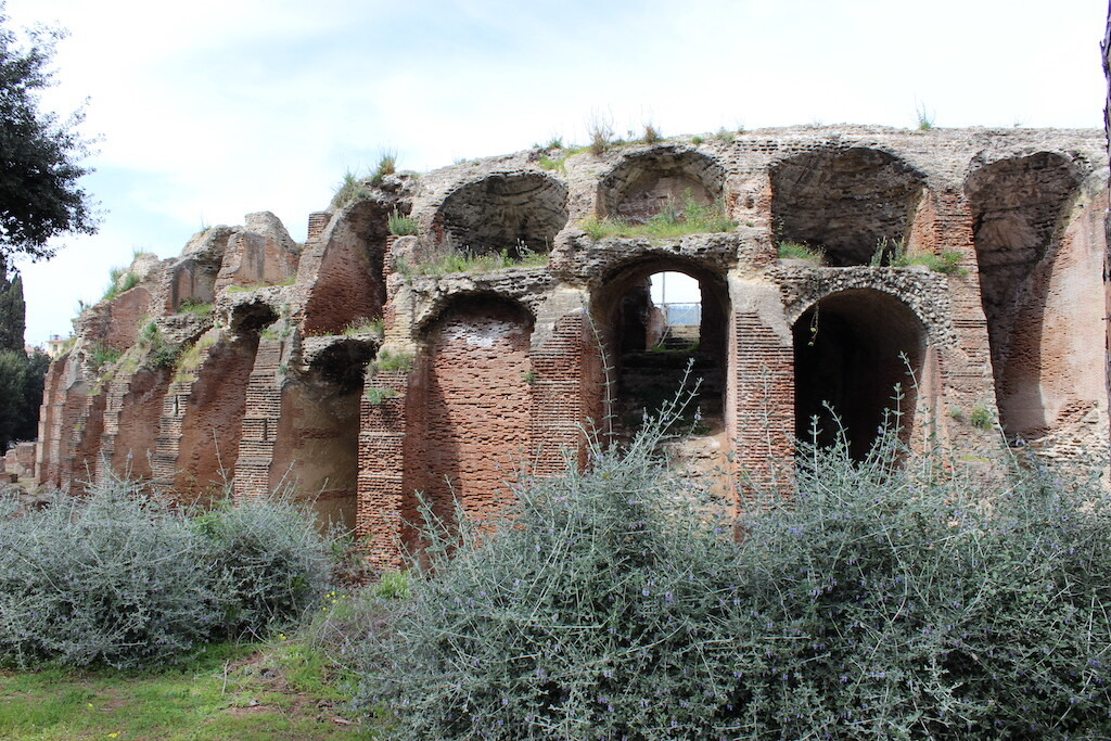 The Flavian Amphitheater in Pozzuoli where St. Januarius may have died.