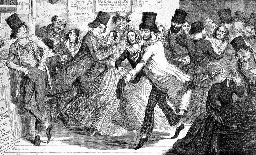 Dancing hysteria