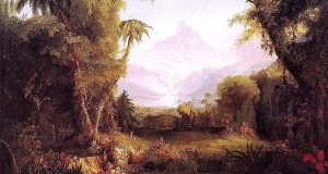"Thomas Cole's ""The Garden of Eden"""