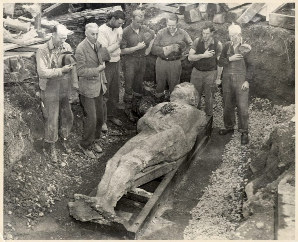 The Cardiff Giant was one of many hoaxes pertaining to the discovery of ancient giants.