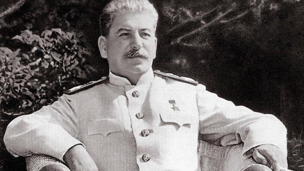Soviet leader Joseph Stalin.