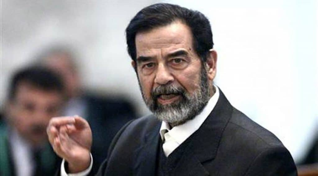 Iraqi leader Saddam Hussein was a tyrant.