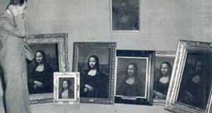 Forgery: Eight versions of the Mona Lisa