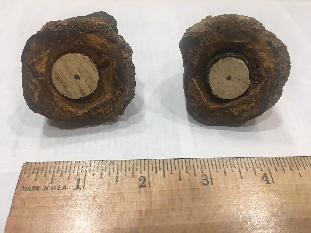 A 2018 image of the Coso Artifact. Image: Peter Stromberg.