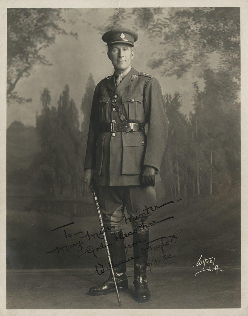 A 1920 portrait of William Desmond Taylor by Albert Witzel.