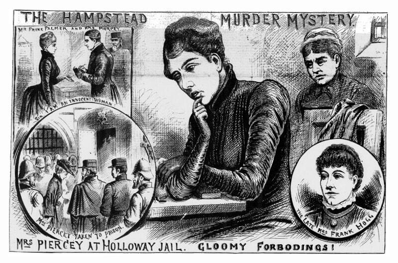 Mary Pearcey (Illustrated Police News, 1890)