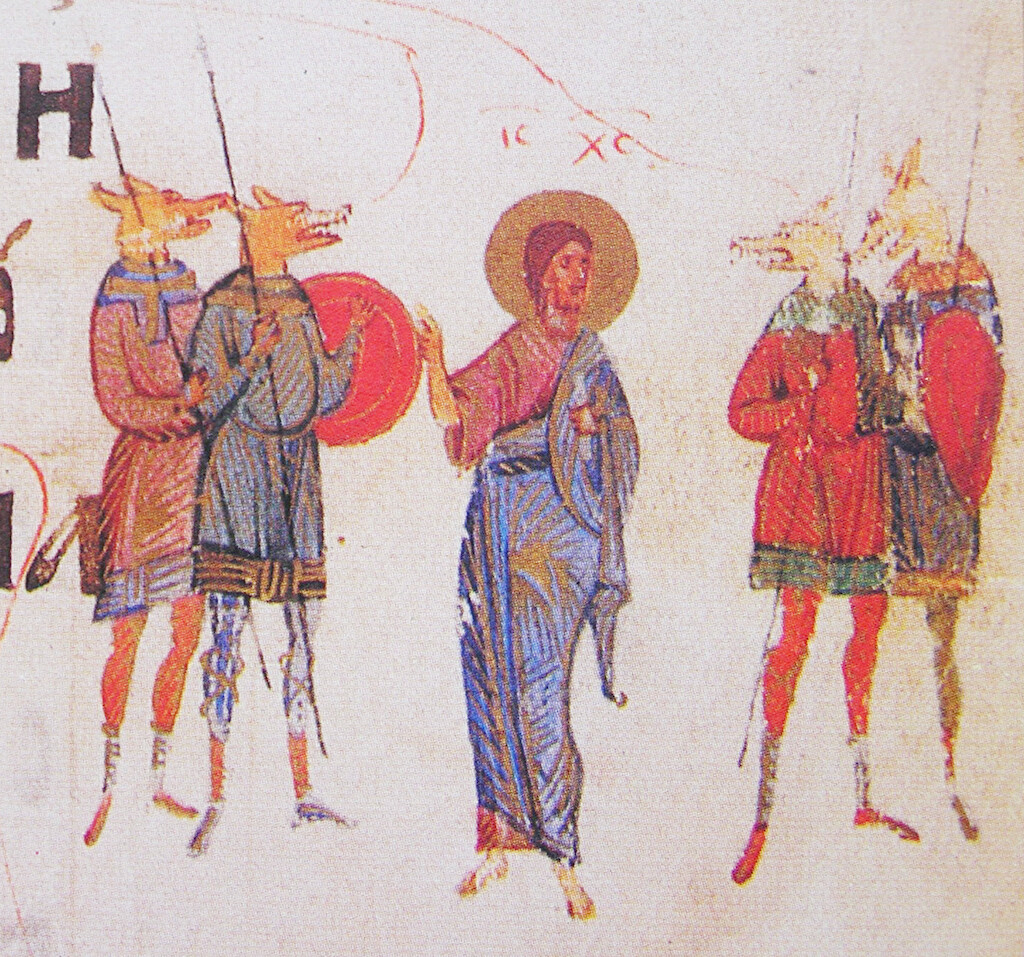 Dog Headed Men appear prevalent in early Christianity.