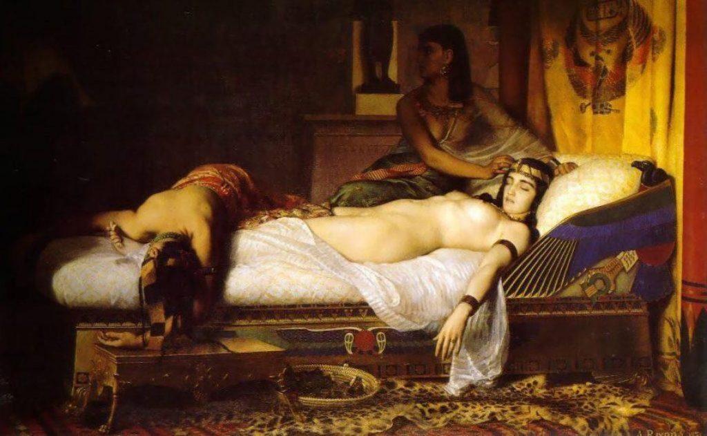 Tomb of Antony of Cleopatra.