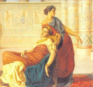 tomb of cleopatra and mark antony