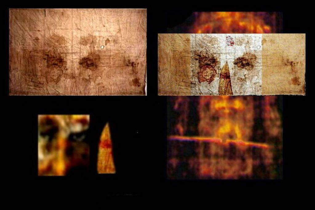 How the Sudarium fits perfectly with the Shroud of Turin.
