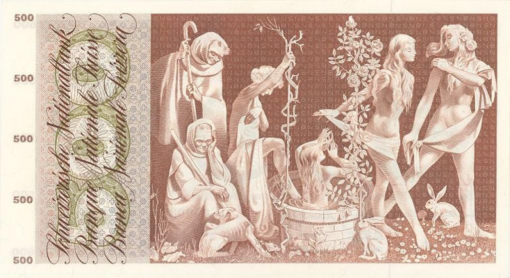 Immortality: Depiction of the Fountain of Youth on Currency