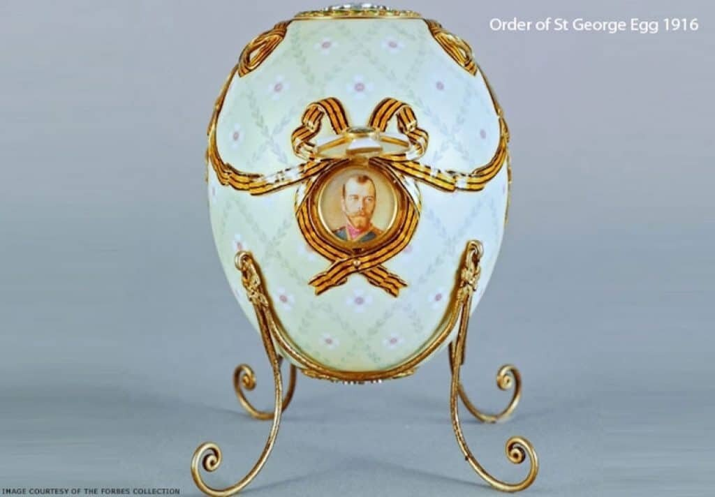 The Imperial Faberge Easter Eggs are amazing works of art. Image: Forbes collection.