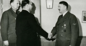 Bose Meeting Hitler courtesy of Bundesarchiv Digital Picture Archives