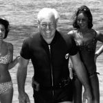 Harold Holt at the beach