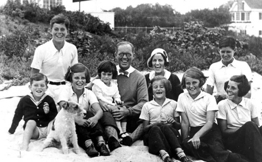 The Kennedy family.