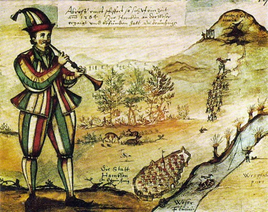 The fable of the Pied Piper may be based on a very disturbing event in history.