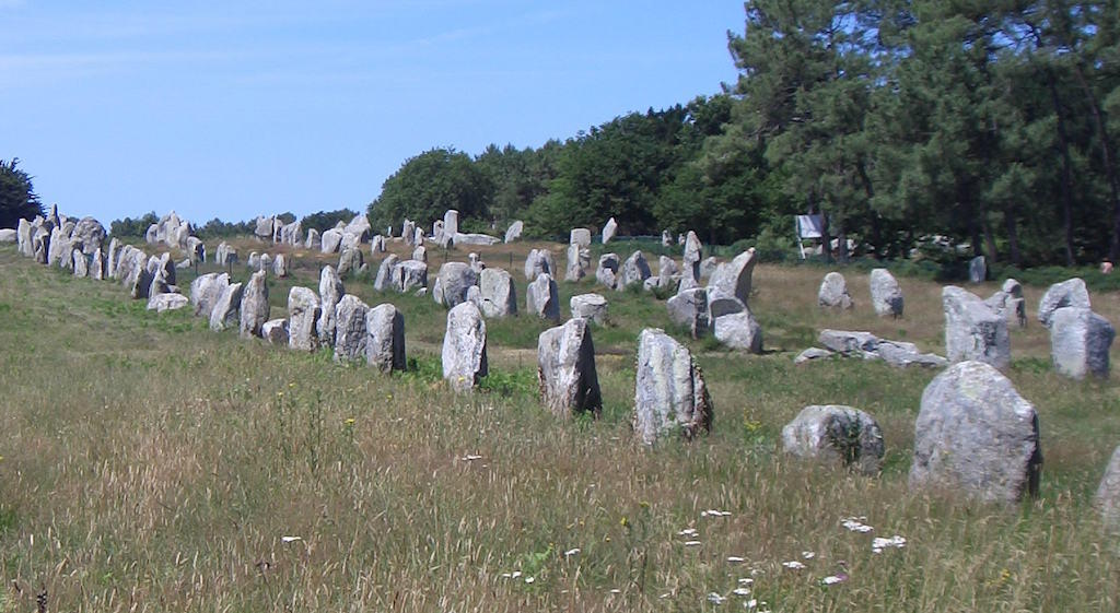 Alignments of Carnac Stones