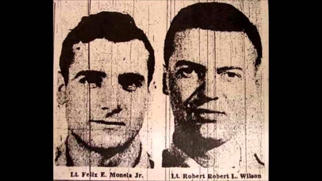Another aerial disappearance is the flight of Air Force pilot 1st Lt. Felix Eugene Moncla Jr. and 2nd Lt. Robert Wilson.